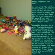 Friday, September 18th, 2015