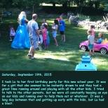 Saturday, September 19th, 2015
