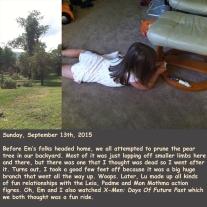 Sunday, September 13th, 2015