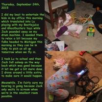 Thursday, September 24th, 2015