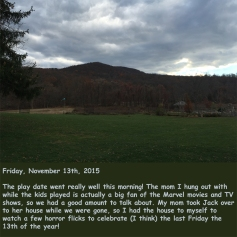 Friday, November 13th, 2015