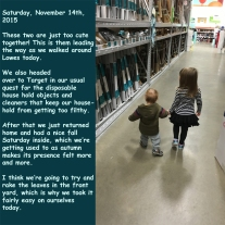 Saturday, November 14th, 2015