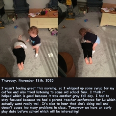 Thursday, November 12th, 2015