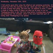 Wednesday, November 18th, 2015