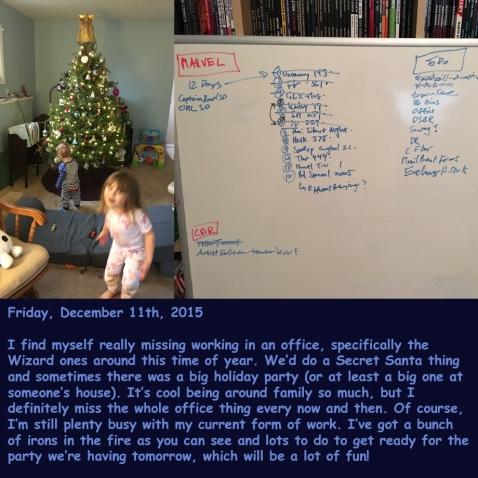 Friday, December 11th, 2015