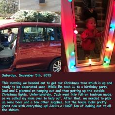 Saturday, December 5th, 2015
