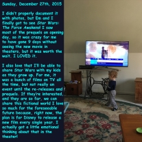 Sunday, December 27th, 2015