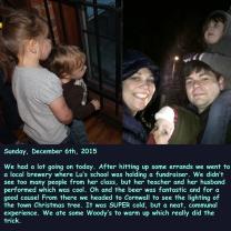 Sunday, December 6th, 2015