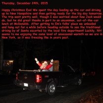 Thursday, December 24th, 2015