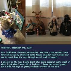 Thursday, December 3rd, 2015