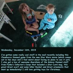 Wednesday, December 16th, 2015