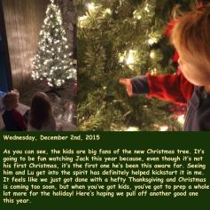 Wednesday, December 2nd, 2015
