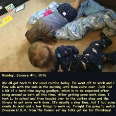 Monday, January 4th, 2016