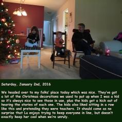 Saturday, January 2nd, 2016