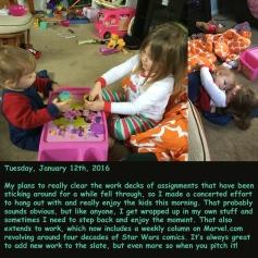 Tuesday, January 12th, 2016