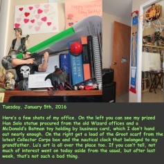 Tuesday, January 5th, 2016